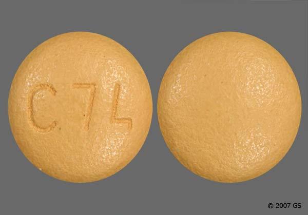 Photo of the drug Azor (generic name(s): AMLODIPINE-OLMESARTAN).