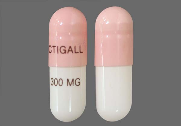 Photo of the drug Actigall.