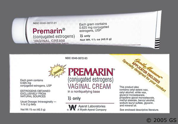 Photo of the drug Premarin (generic name(s): ).