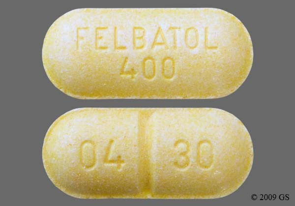 Photo of the drug Felbatol.