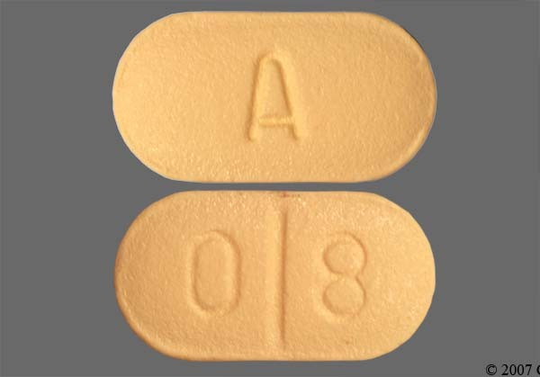 Photo of the drug Remeron.