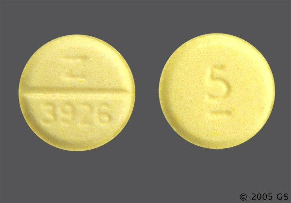 Photo of the drug Valium.