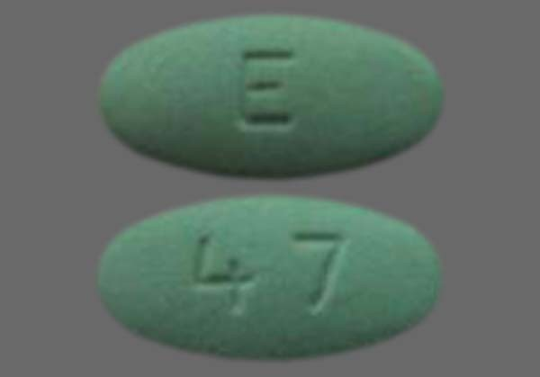 Photo of the drug Losartan Potassium.
