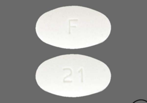 Photo of the drug Fosamax.