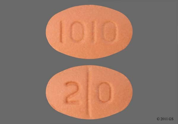 Photo of the drug Celexa (generic name(s): CITALOPRAM).