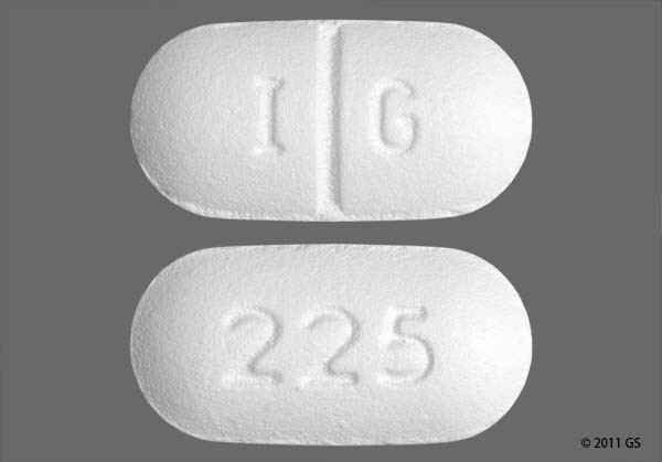 Photo of the drug Lopid (generic name(s): GEMFIBROZIL).