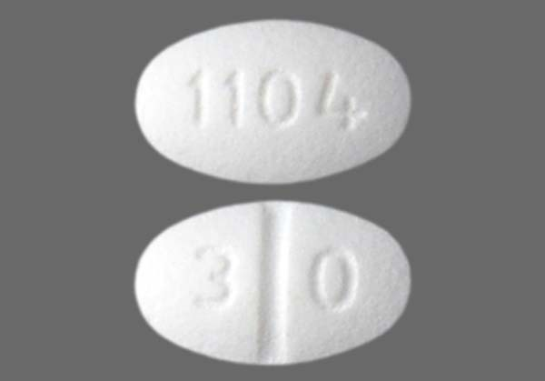 Photo of the drug Isosorbide Mononitrate.
