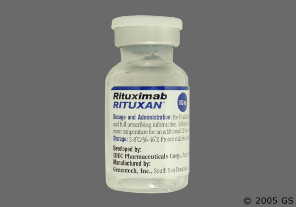 Photo of the drug Rituxan.