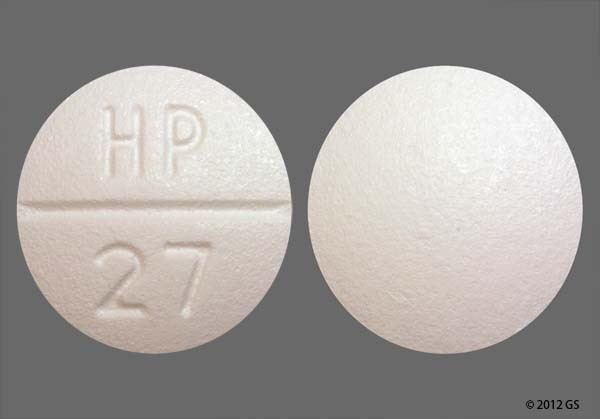 Photo of the drug Verapamil Hcl.