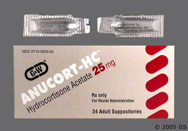 Photo of the drug Anucort-hc.