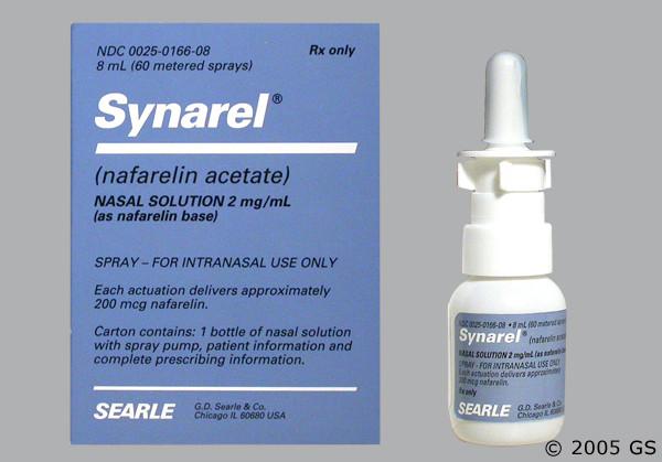 Photo of the drug Synarel (generic name(s): ).