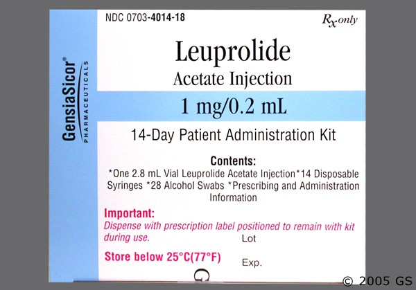 Photo of the drug Eligard (generic name(s): LEUPROLIDE).