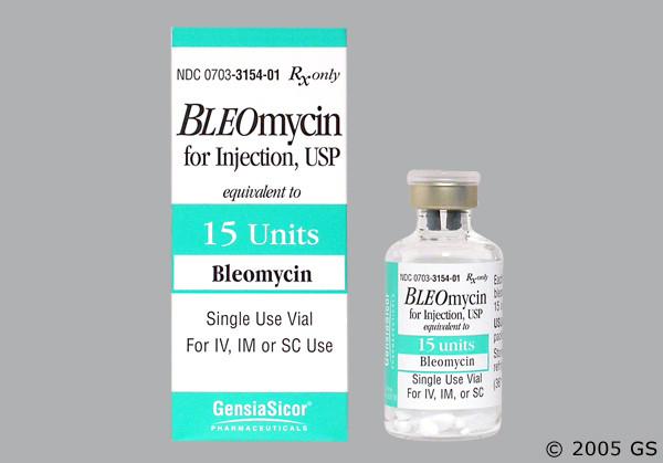 Photo of the drug Bleo 15k (generic name(s): BLEOMYCIN).