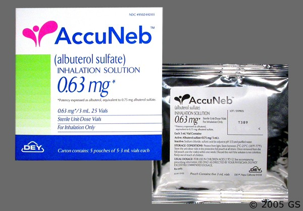Photo of the drug Accuneb.
