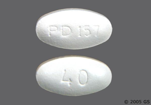 Photo of the drug Lipitor (generic name(s): ATORVASTATIN).