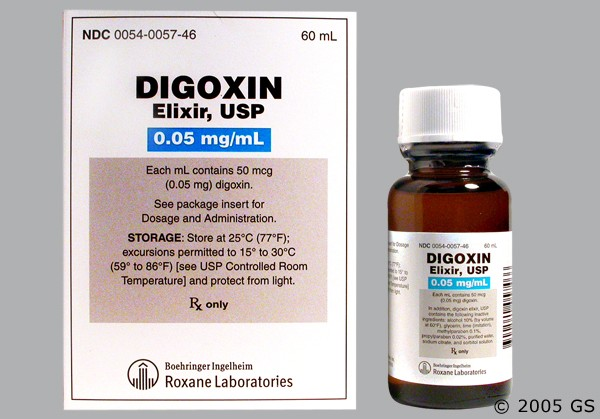 Photo of the drug Digoxin.