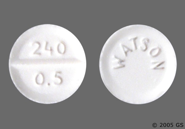 Photo of the drug Ativan.