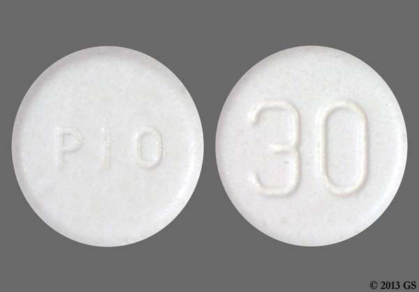 Photo of the drug Actos (generic name(s): PIOGLITAZONE).