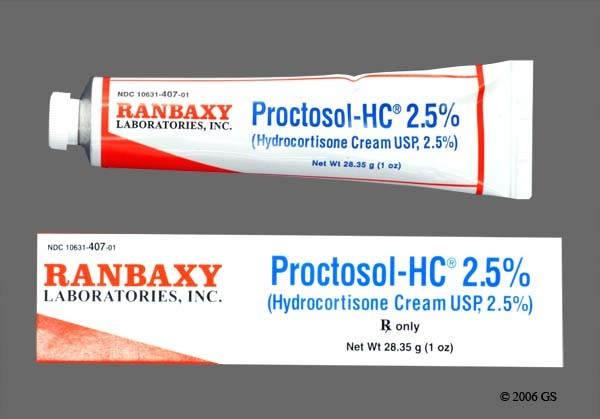 Photo of the drug Proctosol-hc.