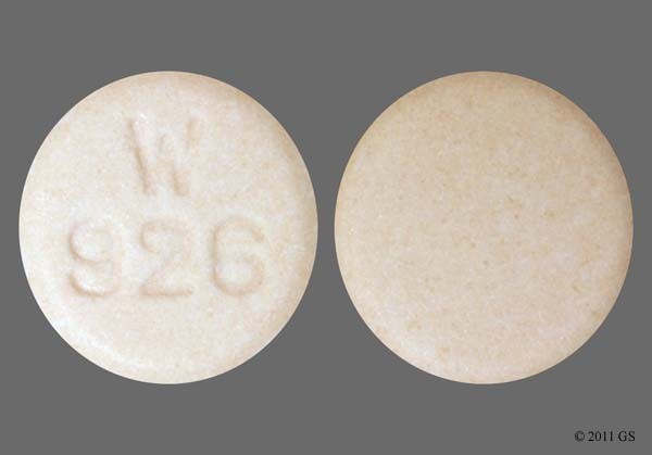 Photo of the drug Vasotec (generic name(s): ENALAPRIL MALEATE).