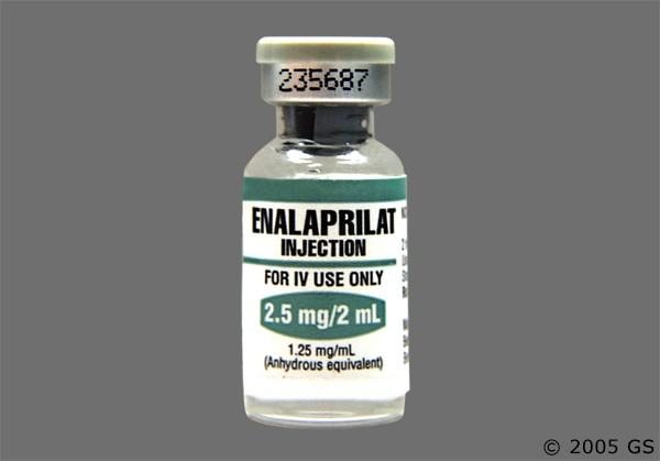 Photo of the drug Enalaprilat.