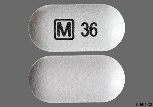 Photo of the drug Concerta.