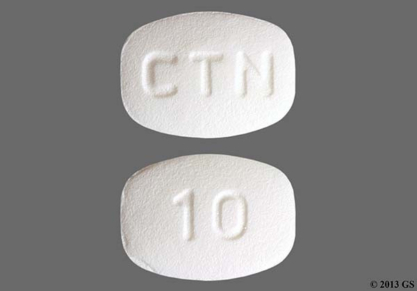 Photo of the drug Allergy Relief (cetirizine).
