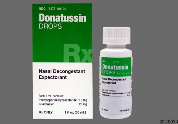 Photo of the drug Donatussin.
