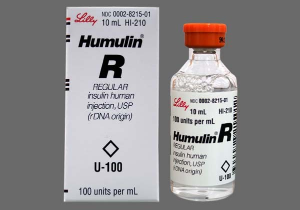Photo of the drug Humulin R Regular U-100 Insuln (generic name(s): ).
