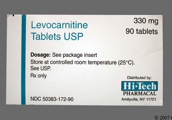 Photo of the drug Carnitor (generic name(s): LEVOCARNITINE).
