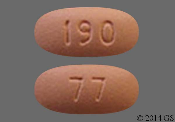 Photo of the drug Xeloda.