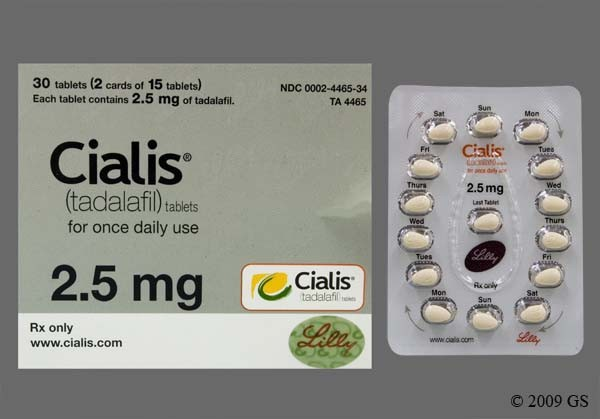 Photo of the drug Cialis.