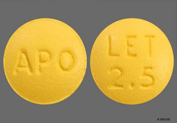 Photo of the drug Letrozole.