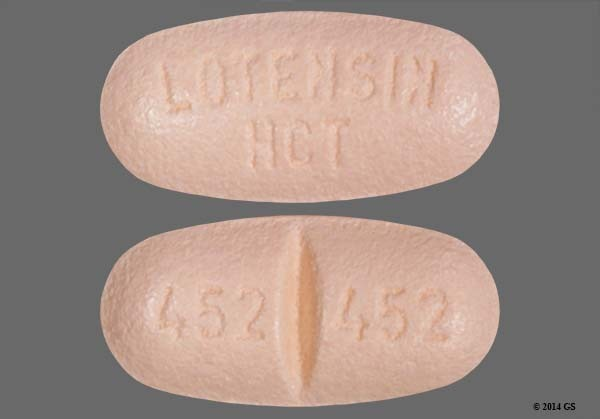 Photo of the drug Lotensin Hct.