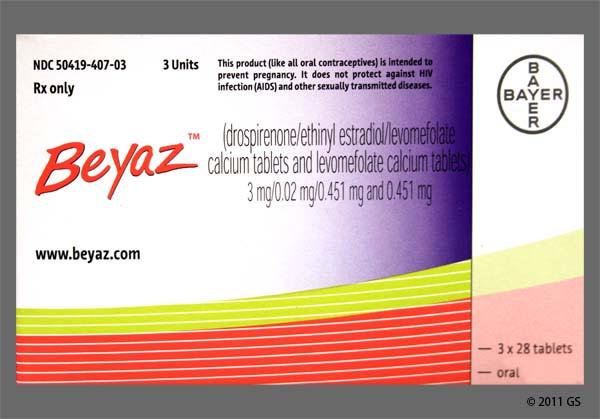 Photo of the drug Beyaz (generic name(s): DROSPIRENONE-E.ESTRADIOL-LM.FA).