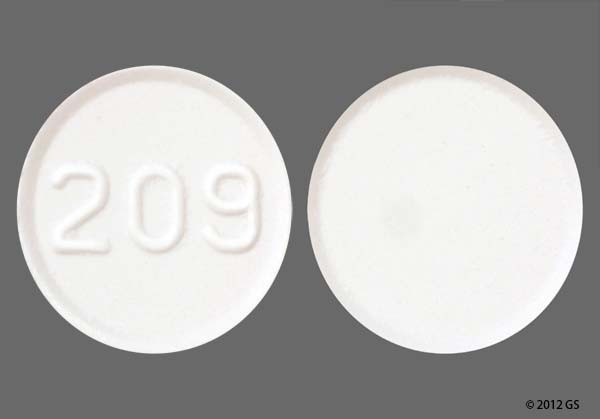 Photo of the drug Amlodipine.