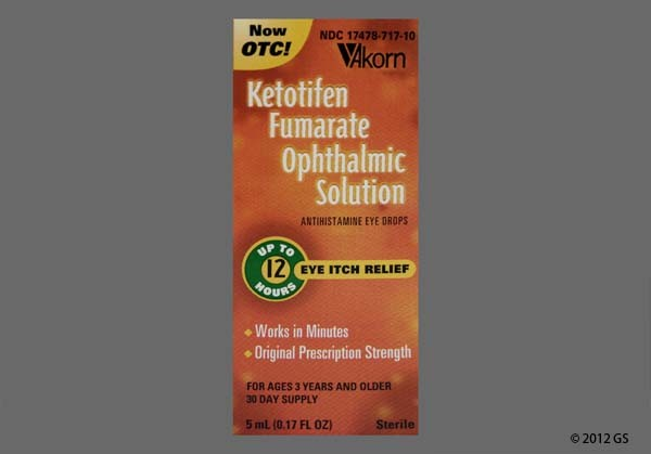 Photo of the drug Eye Itch Relief (generic name(s): KETOTIFEN FUMARATE).
