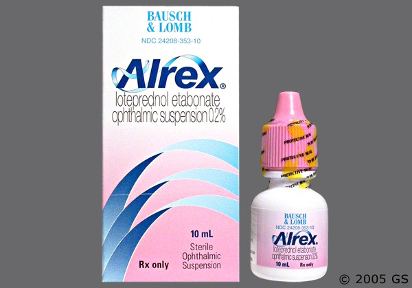 Photo of the drug Alrex.