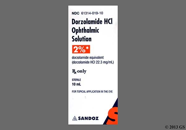 Photo of the drug Dorzolamide Hcl.