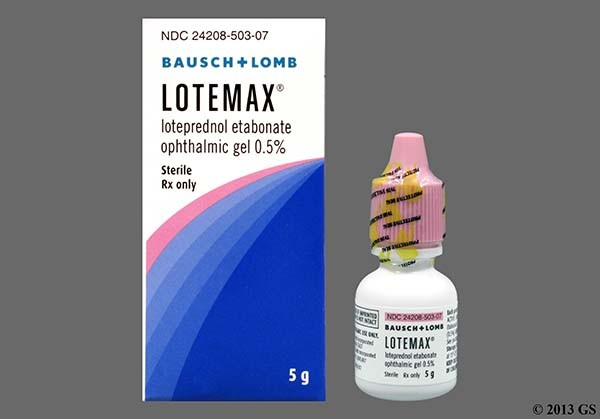 Photo of the drug Lotemax (generic name(s): ).