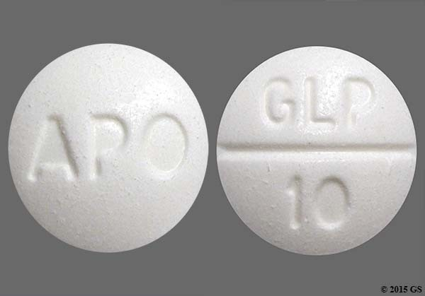 Photo of the drug Glucotrol.