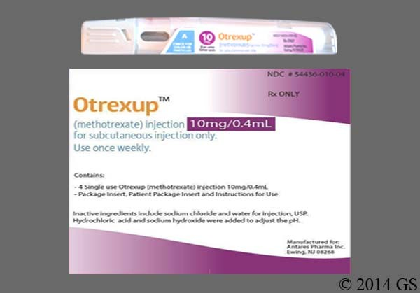 Photo of the drug Otrexup.