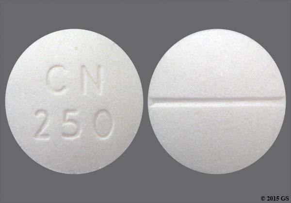 Photo of the drug Chloroquine Phosphate.