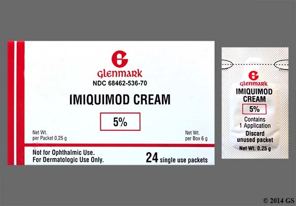 Photo of the drug Aldara (generic name(s): IMIQUIMOD).