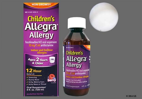 Photo of the drug Childrens Allegra Allergy.