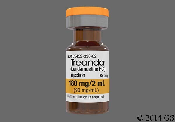 Photo of the drug Treanda.