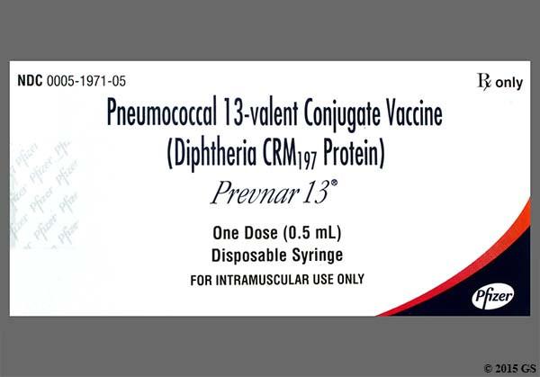 Photo of the drug Prevnar 13 (pf) (generic name(s): ).