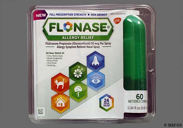 Photo of the drug Flonase Allergy Relief.
