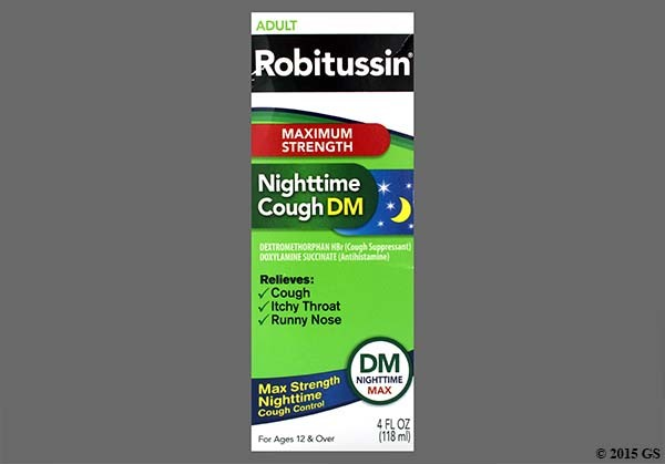 Photo of the drug Robitussin Nighttime Cough Dm.