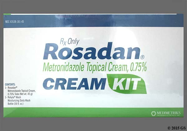 Photo of the drug Rosadan.